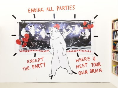 ENDING ALL PARTIES / EXCEPT THE PARTY / WHERE U MEET YOUR OWN BRAIN, 2017