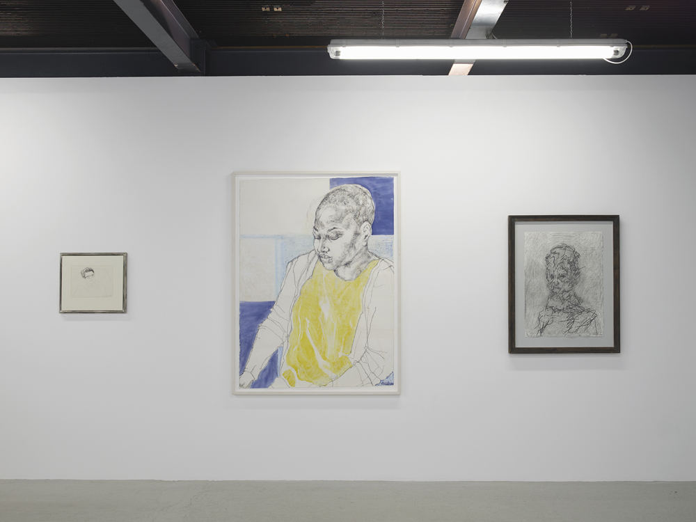 close drawn portraits exhibitions drawing room