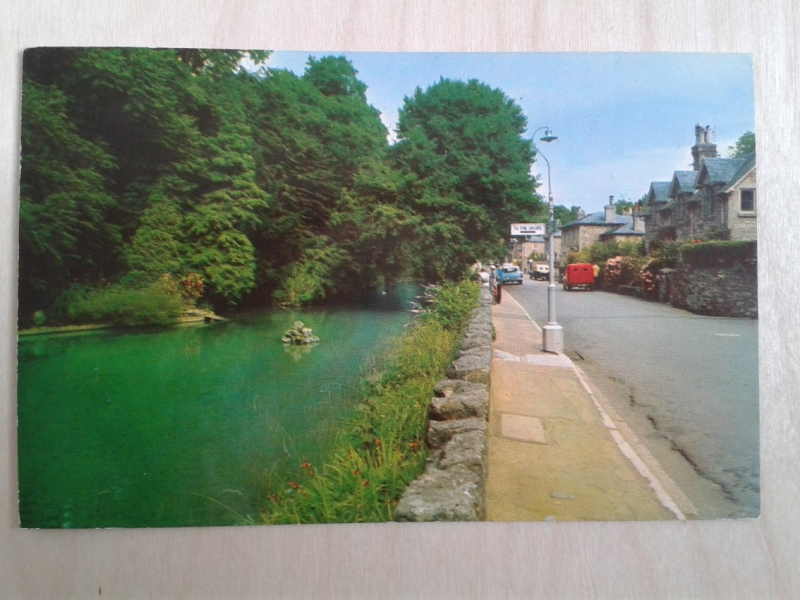 Four postcards dated 26 July 1973, Postcard one front.