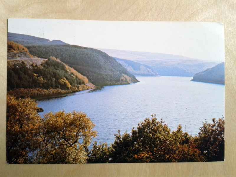A Three Day Walk dated 28 June 1976, Postcard three front.