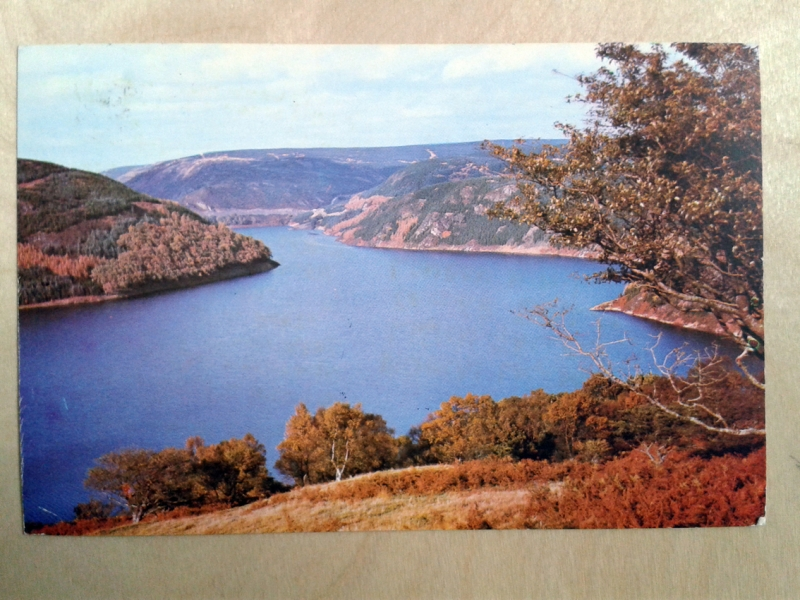 A Three Day Walk dated 28 June 1976, Postcard one front.