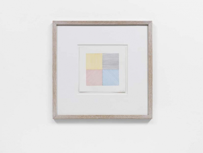 4 Colour Drawing, 1971