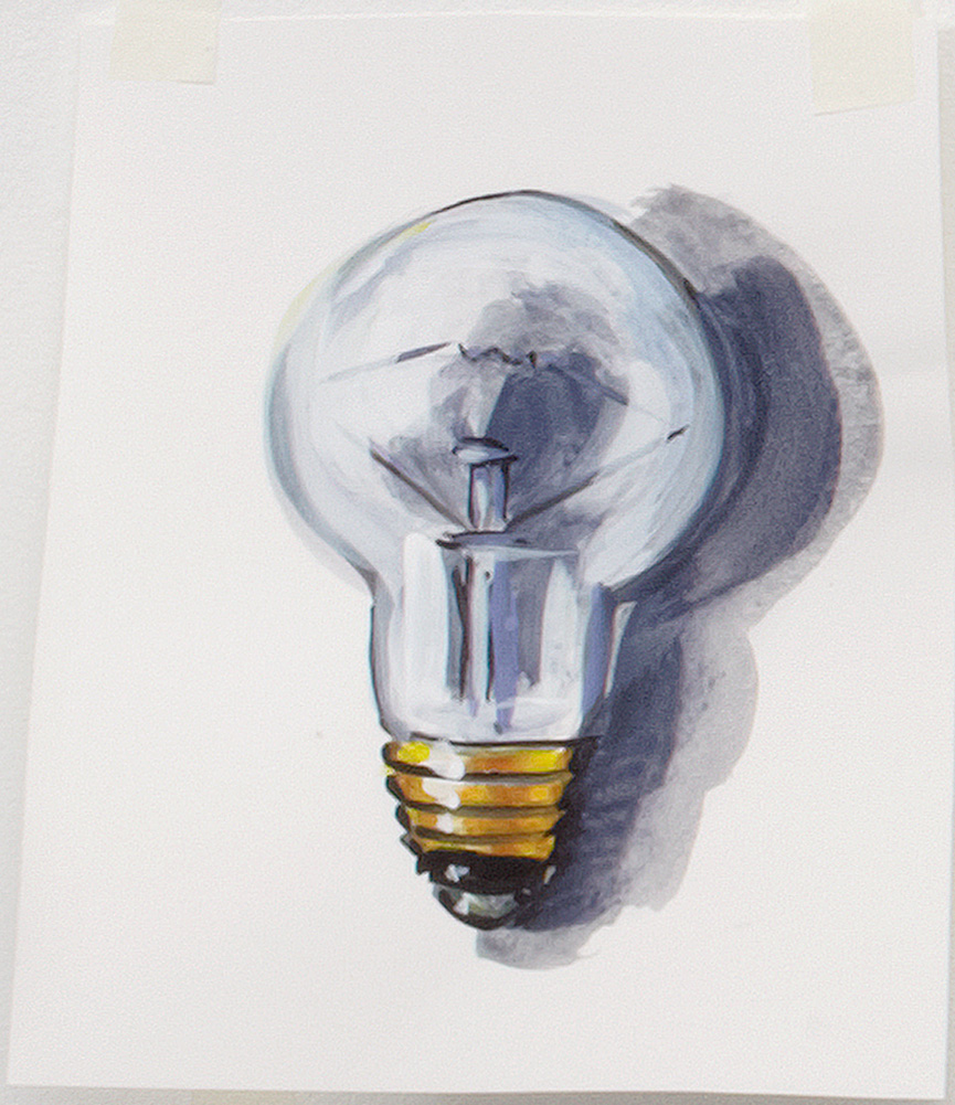 Light Bulb By Lisa Milroy Shop Drawing Room